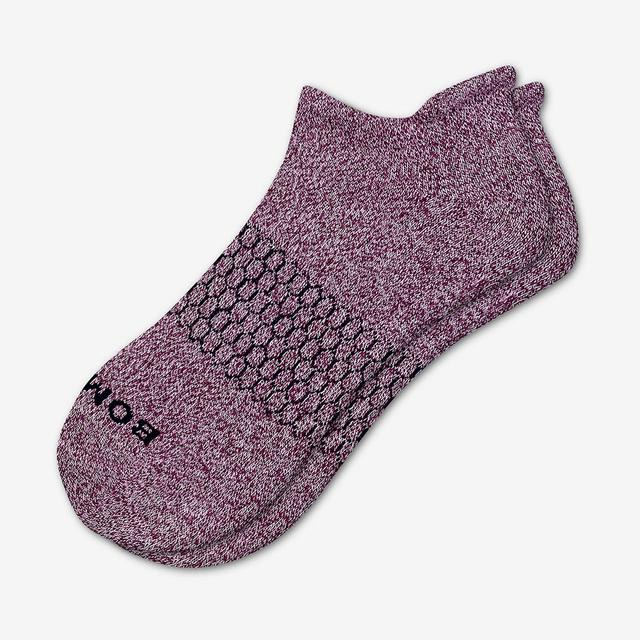 winter-wine-violet Women's Classic Marls Ankle Socks
