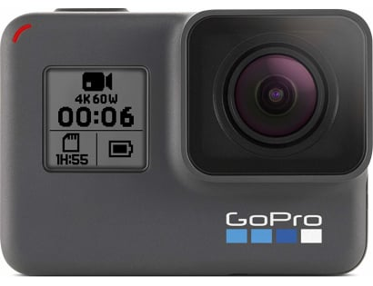 GoPro HERO6 Black — Waterproof Digital Action Camera for Travel with Touch Screen 4K HD Video