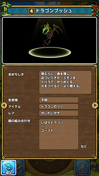 モンスターNo.116 ライブラリ2枚目