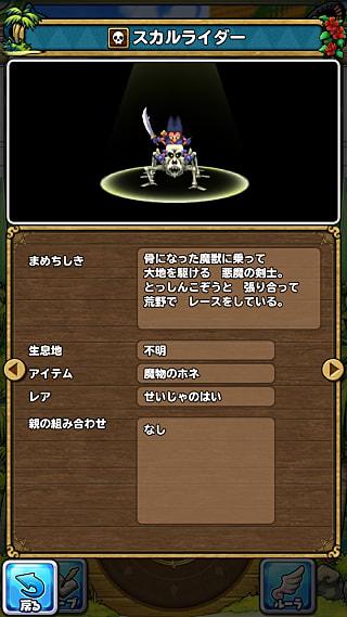 モンスターNo.063 ライブラリ2枚目