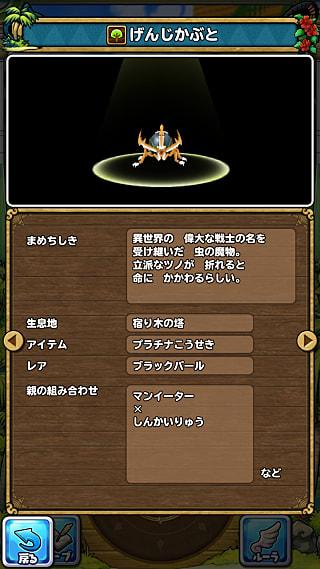 モンスターNo.552 ライブラリ2枚目