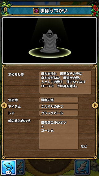 モンスターNo.426 ライブラリ2枚目