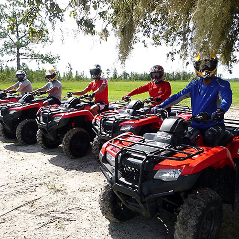 The Atv Track Clermont 4