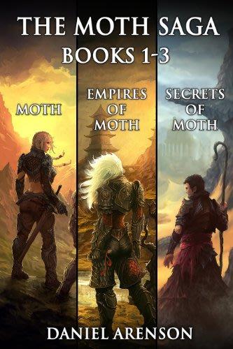 The moth saga books 1 3 by daniel arenson