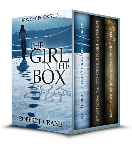 The girl in the box books 1 3 by robert j crane