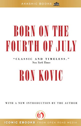an analysis of the book born on the fourth of july by ron kovic Book born on the fourth of july  based on the autobiography of vietnam veteran ron kovic,  seeing born on the fourth of july as a tale of american masculinity.