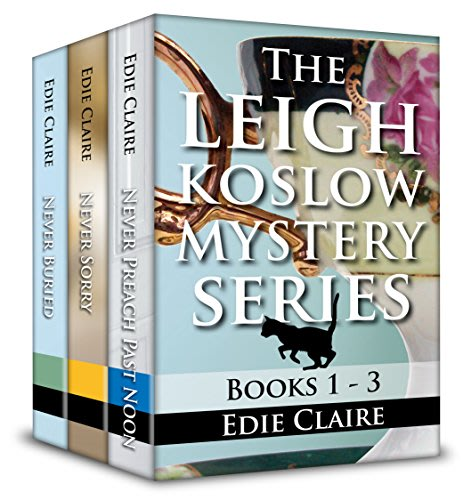 The leigh koslow mystery series books 1 3 by edie claire
