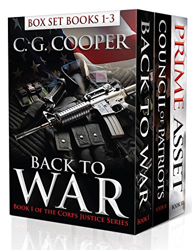 Corps justice box set books 1 3 by c g cooper 2015 02 20