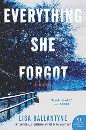 Everything she forgot by lisa ballantyne