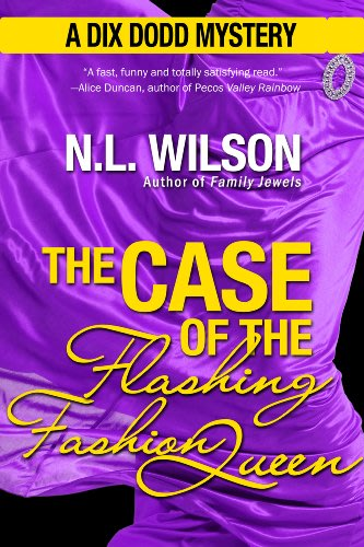 The case of the flashing fashion queen by n l wilson  2