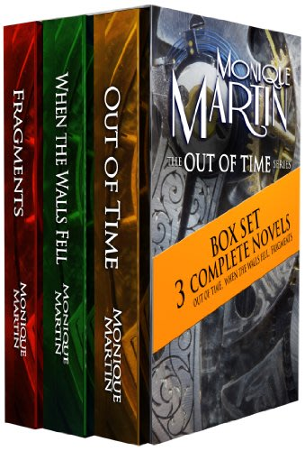 Out of time box set books 1 3 by monique martin