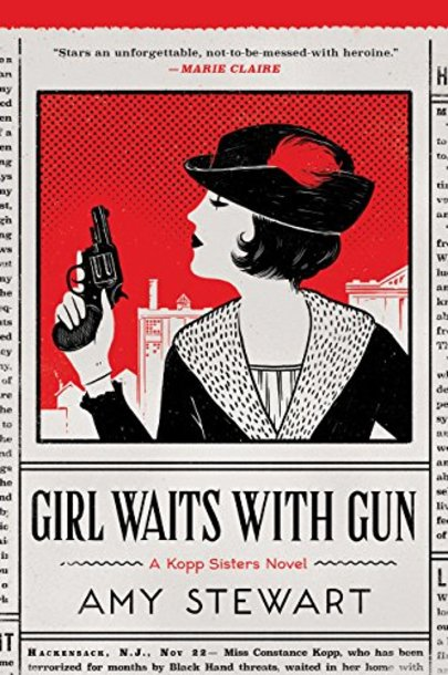 Image result for book cover girl waits with gun stewart