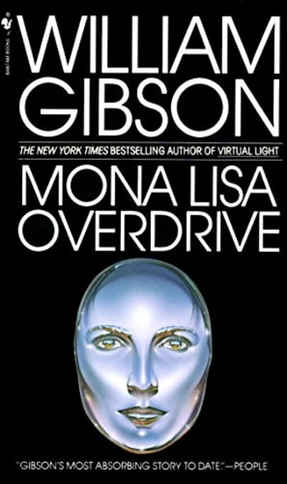 Author Mona Gibson >> Mona Lisa Overdrive By William Gibson Bookbub