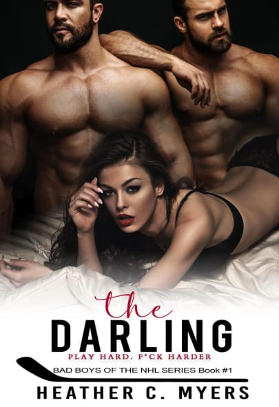 The Darling A Mfm Erotic Sports Romance Bad Boys Of The Nhl Book 1