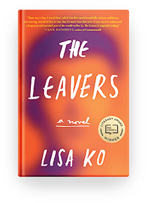 Book cover for The Leavers by Lisa Ko for book recommendation