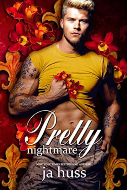 Book cover for Pretty Nightmare (Creeping Beautiful, #2) by JA Huss