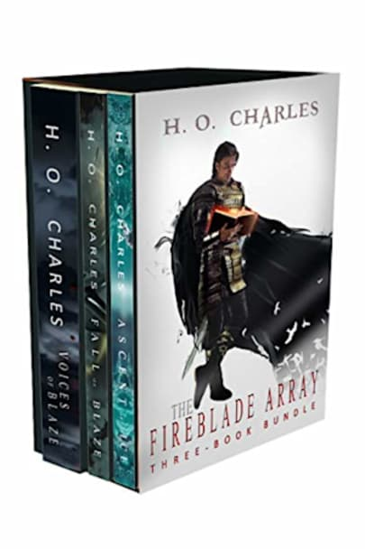 Book cover for The Fireblade Array: Three-Book Bundle by H. O. Charles
