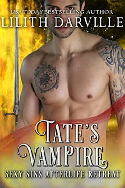 Book cover for Tate's Task (Sexy Sins Retreat Book 2) by Lilith Darville