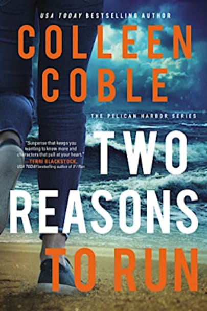 Book cover for Two Reasons to Run by Colleen Coble