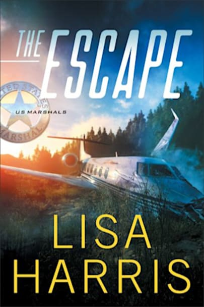Book cover for The Escape (US Marshals Book #1) by Lisa Harris