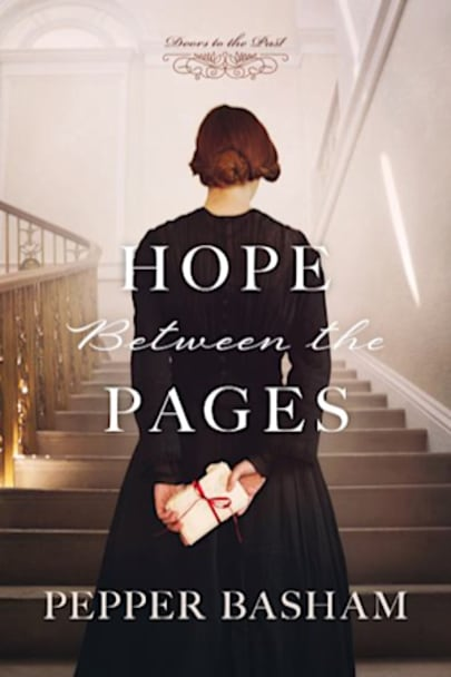 Book cover for Hope Between the Pages by Pepper D. Basham