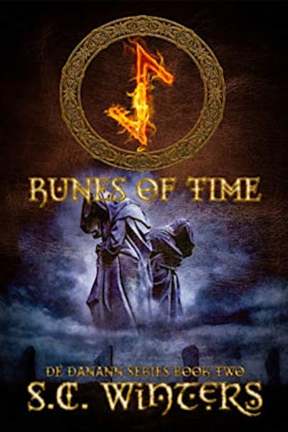 Book cover for Runes of Time (De Danann Series Book 2) by S.C. Winters