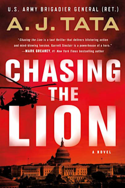 Book cover for Chasing the Lion by A. J. Tata