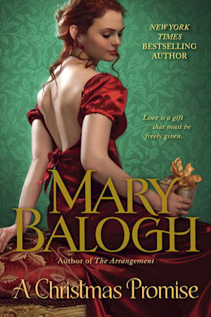 Book cover for A Christmas Promise by Mary Balogh