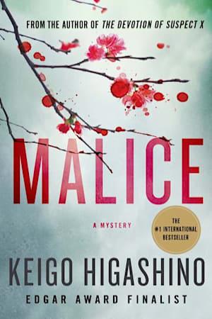 Book cover for Malice by Keigo Higashino