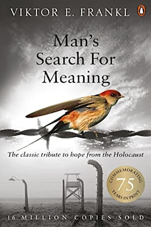Book cover for Man's Search for Meaning by Viktor E Frankl