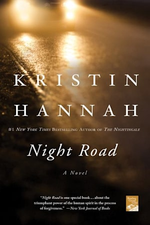 Book cover for Night Road by Kristin Hannah