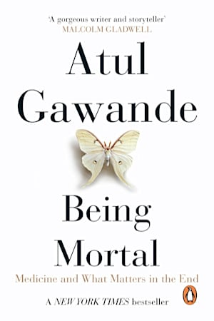Book cover for Being Mortal by Atul Gawande