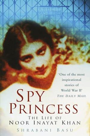 Book cover for Spy Princess by Shrabani Basu