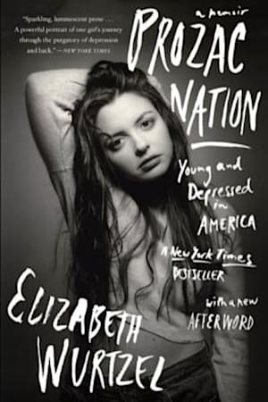 Book cover for Prozac Nation by Elizabeth Wurtzel