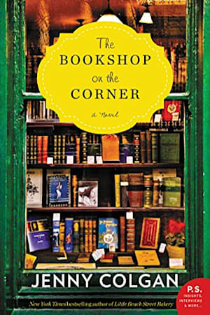 Book cover for The Bookshop on the Corner by Jenny Colgan