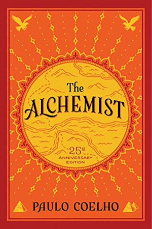 Book cover for The Alchemist by Paulo Coelho