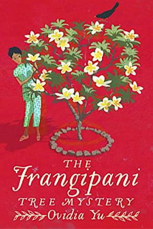 Book cover for The Frangipani Tree Mystery by Ovidia Yu