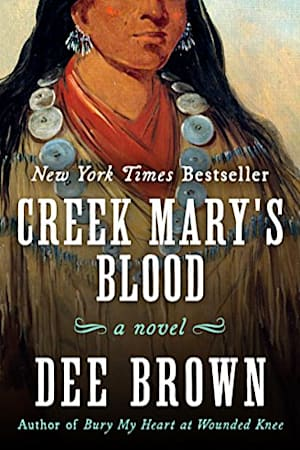Book cover for Creek Mary's Blood by Dee Brown