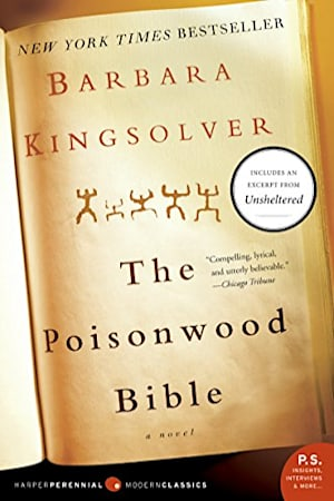Book cover for The Poisonwood Bible by Barbara Kingsolver