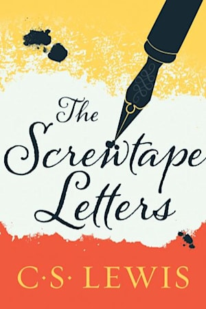 Book cover for The Screwtape Letters by C. S. Lewis
