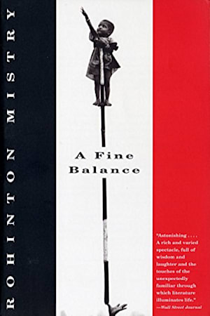 Book cover for A Fine Balance by Rohinton Mistry
