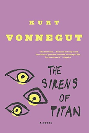 Book cover for The Sirens of Titan by Kurt Vonnegut