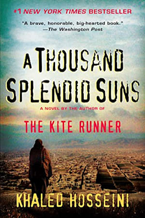 Book cover for A Thousand Splendid Suns by Khaled Hosseini