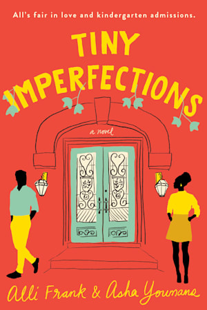Book cover for Tiny Imperfections by Alli Frank, Asha Youmans