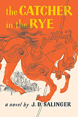 Book cover for The Catcher in the Rye by J. D. Salinger