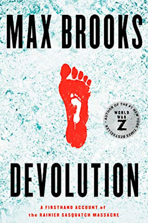 Book cover for Devolution by Max Brooks