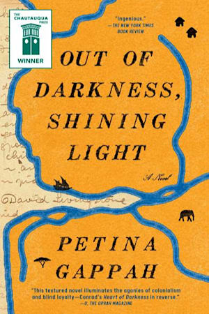 Book cover for Out of Darkness, Shining Light by Petina Gappah