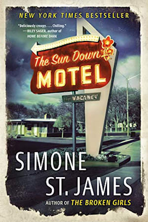 Book cover for The Sun Down Motel by Simone St. James