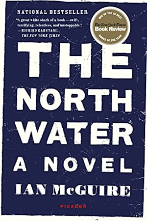 Book cover for The North Water by Ian McGuire