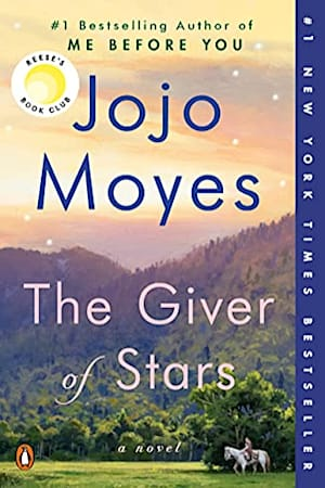 Book cover for The Giver of Stars by Jojo Moyes